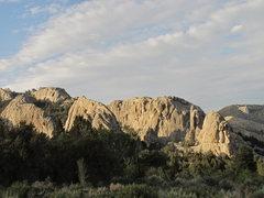 Rock Climbing Photo: City Of Rocks ID.
