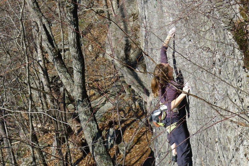Rock Climbing Photo: Fall '12