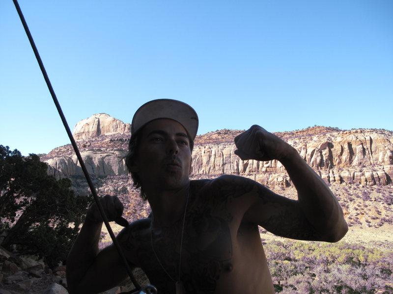 Rock Climbing Photo: hay
