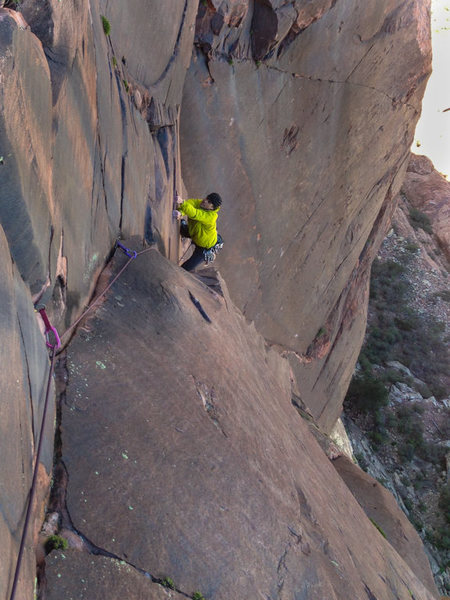 Rock Climbing Photo: Cold Front