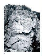 Rock Climbing Photo: FA of a Q of B, Climbing #44, inside photo, summer...