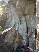 Rock Climbing Photo: Great Grandaddy 11a, nightmare rock squamish