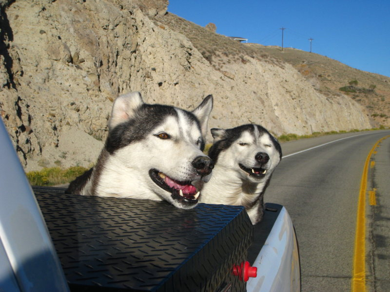 Rock Climbing Photo: Headed to THE BLACK!!!
