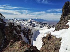 Rock Climbing Photo: The view over to the Blanca Group, and the Sand Du...