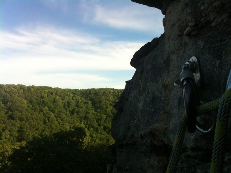 Rock Climbing Photo: the view at the top of bear mountain picnic