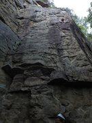 Rock Climbing Photo: taking a break on a ledge (twist and shout)