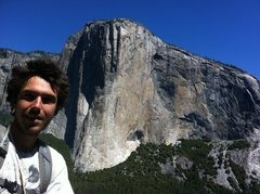 Rock Climbing Photo: View of El Cap from East Buttress of Middle Cathed...