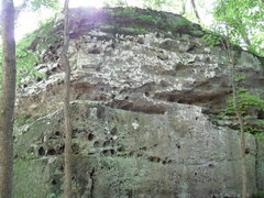 Rock Climbing Photo: The main wall of Top Hat Tower. L to R Cigars and ...