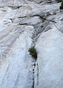 Rock Climbing Photo: Mike just topping out the second lead. This shows ...