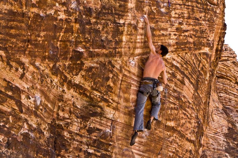 Excellent, Pumpy Sport Climbing.