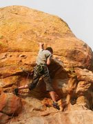 Rock Climbing Photo: Lunge for Jesus