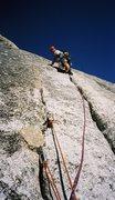 Rock Climbing Photo: Matt Spaun on West Crack