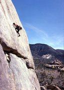 Rock Climbing Photo: Leslie Wilson c. 1986