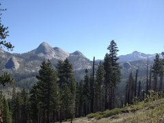 Rock Climbing Photo: Mount Starr King with some of its neighboring dome...