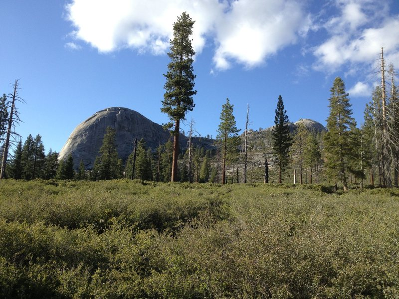 Rock Climbing Photo: Dome Baez from the south.