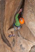 Rock Climbing Photo: FA of Gideon