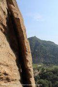Rock Climbing Photo: That little box on top of the mountain? Well, it's...