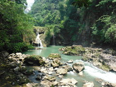 Rock Climbing Photo: Welcome to Semuc Champey