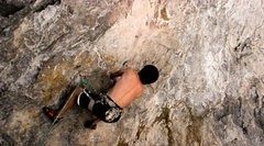 Rock Climbing Photo: grant tryin to get that heel up
