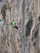 Rock Climbing Photo: The top of the tufa on Magma