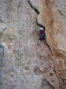 Rock Climbing Photo: Kai Following the crack