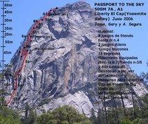 Rock Climbing Photo: The topo