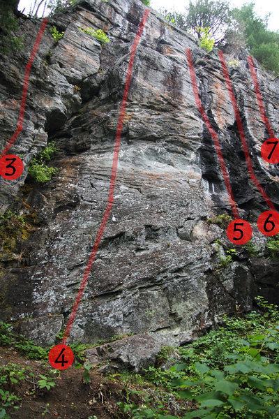 Rock Climbing Photo: Route #4
