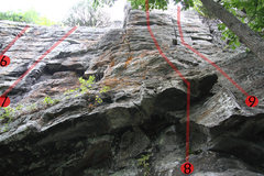 Rock Climbing Photo: Route #9