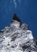 "Rock Climbing Photo: Maurizio is now ""on belay."""