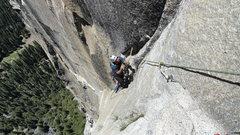 Rock Climbing Photo: Strange Dihedral