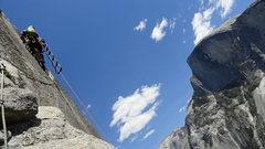 Rock Climbing Photo: Pendulum Pitch 8