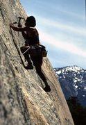 Rock Climbing Photo: Placing.