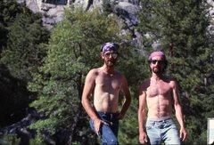 Rock Climbing Photo: At road's end, the old school denizens of Zumwalt ...