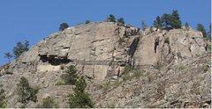 Rock Climbing Photo: Banded Wall