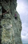 Rock Climbing Photo: Forbidden Corner, Fran Bagenal, P8