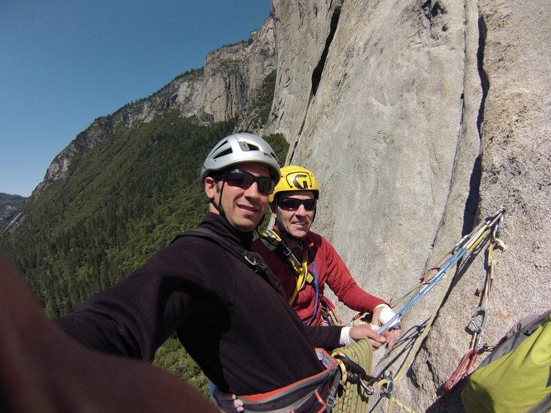 Rock Climbing Photo: Me and Kalvan