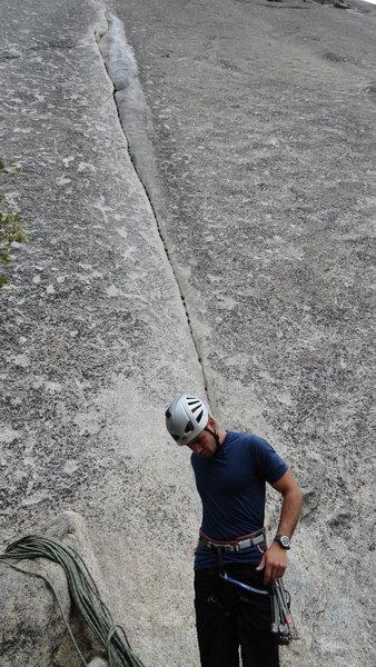 Rock Climbing Photo: Me at the base