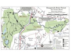 Naugatuck State Forest Trail Map