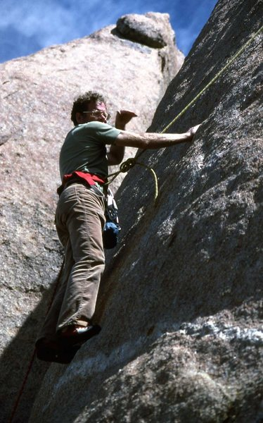 Rock Climbing Photo: Made me feel better about my Whillans. B.C. Mexico...