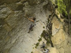 Rock Climbing Photo: Let Them Eat Flake