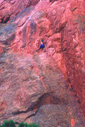 Rock Climbing Photo: CJC on Mighty Thor, circa 1997.  Pic by my mom.