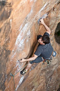 Rock Climbing Photo: David on Crimp Scampi, Memorial Day Weekend, 25 Ma...