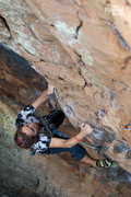 Rock Climbing Photo: Marcie trespassing on Private Property, Memorial D...