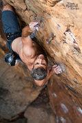 Rock Climbing Photo: Luke Jordan trespassing on Private Property, Memor...