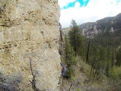 Rock Climbing Photo: Jerry on Yippie.