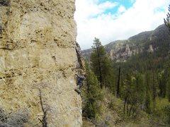 Rock Climbing Photo: Jerry on Yippie-Kay-Yay, 5.10b. A classic climb fo...