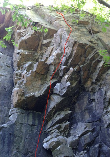 Rock Climbing Photo: Mighty Midget