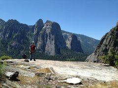 Rock Climbing Photo: Top of After Six