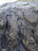 Rock Climbing Photo: Pseudo Slab