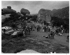 Rock Climbing Photo: 1986 Bouldering Comp.